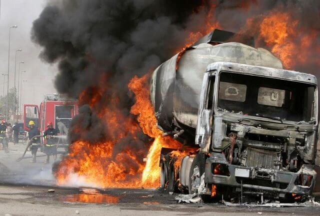One killed, 19 vehicles burnt in Niger State tanker explosion lindaikejisblog