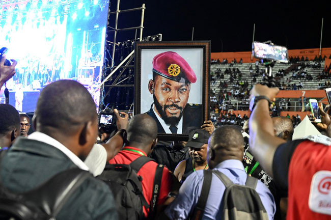 Photos from late DJ Arafat Grand Funeral Concert lindaikejisblog 1