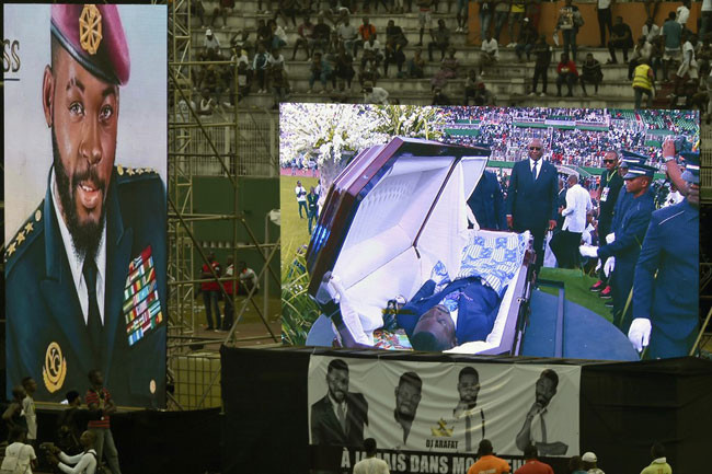 Photos from late DJ Arafat Grand Funeral Concert lindaikejisblog 2