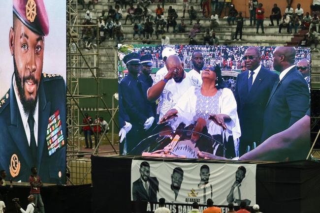 Photos from late DJ Arafat Grand Funeral Concert lindaikejisblog 4