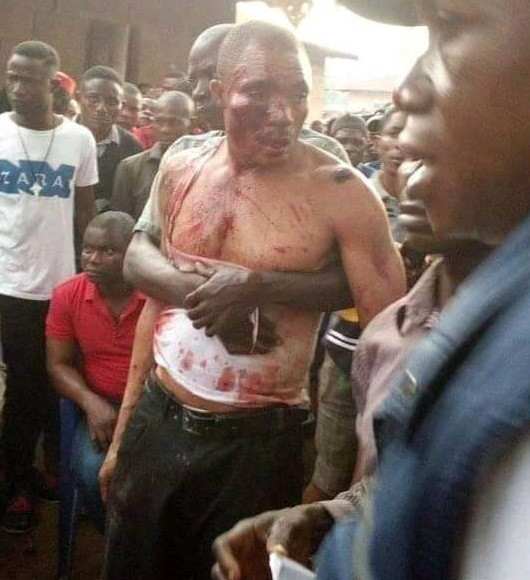 Angry youths beat up pastor in Cross River community, set his house, church ablaze for allegedly using people for ritual