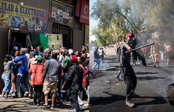 Looting of shops owned by foreigners continues in South Africa, 300 Nigerians register for evacuation lindaikejisblog