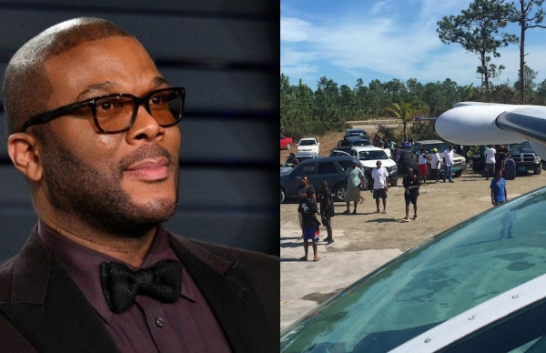 Tyler Perry uses his private plane to deliver supplies to Bahamas lindaikejisblog