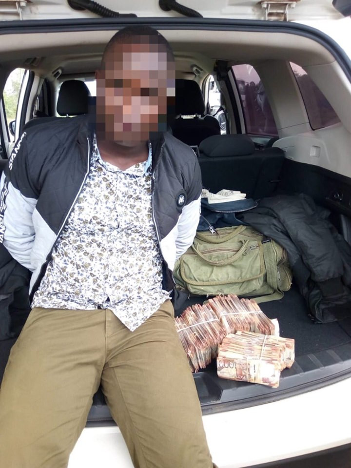 Two Police officers arrested with Millions from Kenyan Sh.72-Million (N254m) ATM heist lindaikejisblog 3