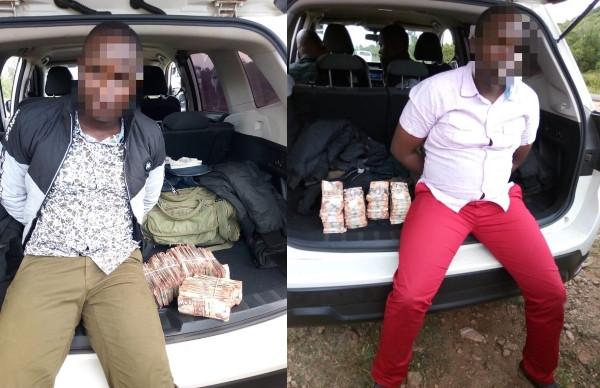 Two Police officers arrested with Millions from Kenyan Sh.72-Million (N254m) ATM heist lindaikejisblog