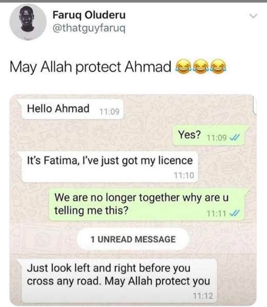 Lol, Please pray for Ahmad lindaikejisblog