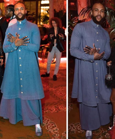 Image result for See the outfit Jidenna wore to an event that has got everyone talking on social media