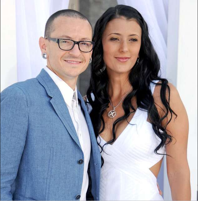 Late Linkin Park lead singer Chester Bennington's widow announces her engagement to another man two years after his death