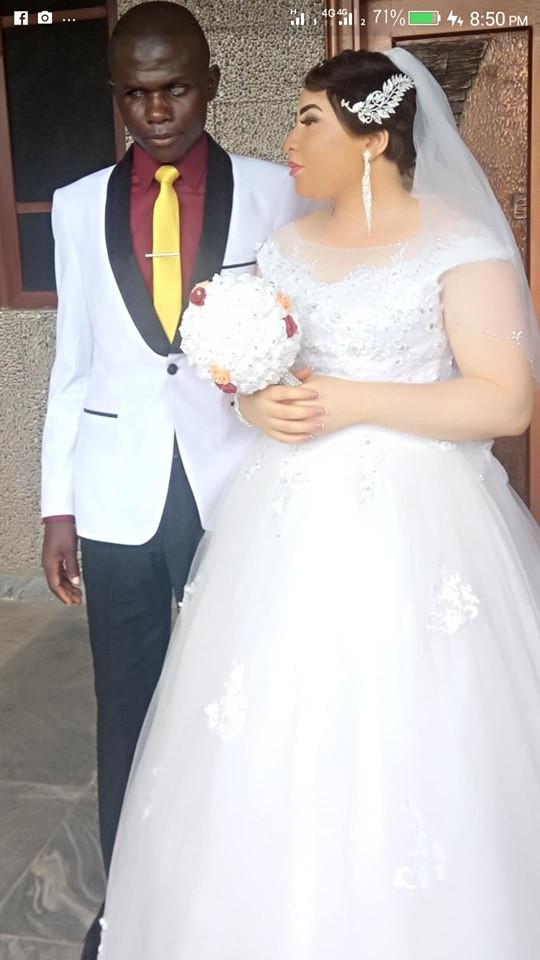 Beautiful lady marries a blind man in Nasarawa State lindaikejisblog 2