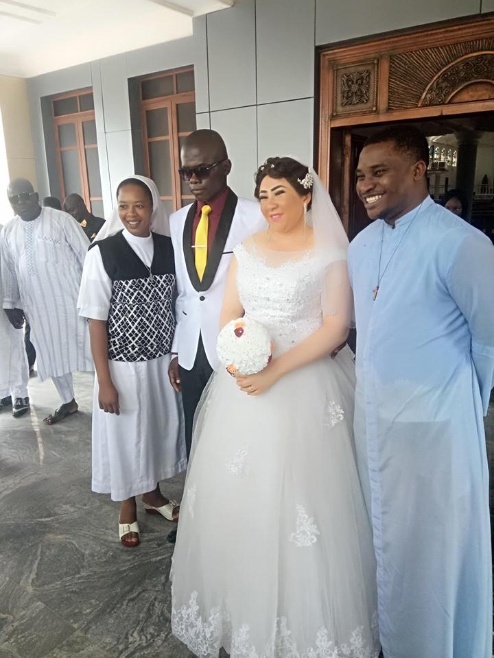 Beautiful lady marries a blind man in Nasarawa State lindaikejisblog 3