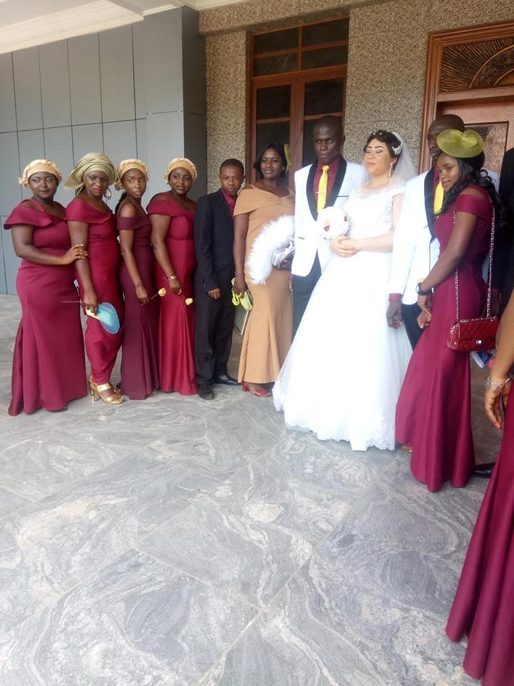 Beautiful lady marries a blind man in Nasarawa State lindaikejisblog 4