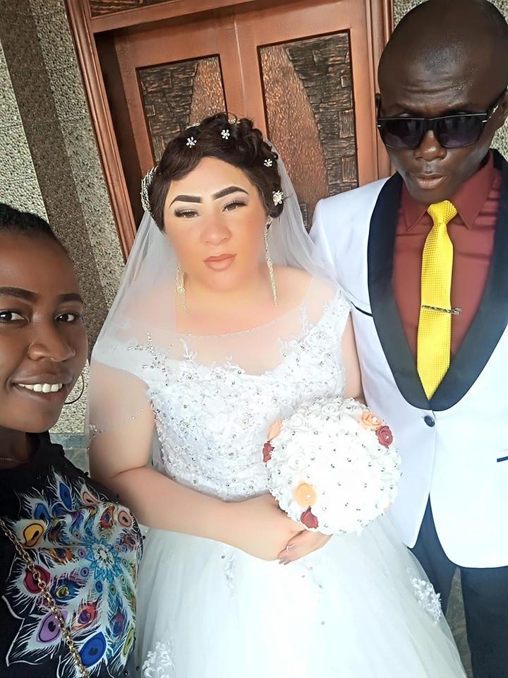Beautiful lady marries a blind man in Nasarawa State lindaikejisblog 5