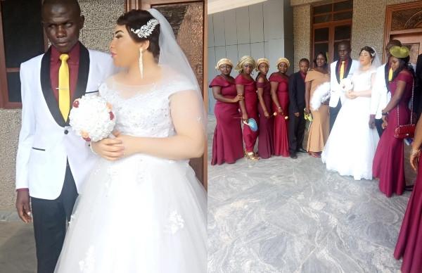 Beautiful lady marries a blind man in Nasarawa State lindaikejisblog