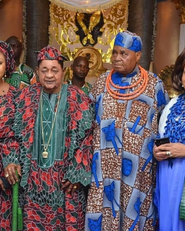 Alaafin of Oyo attends the 85th birthday of Chief Gabriel