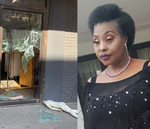 Xenophobia:I am confused, frustrated and I've lost faith, people protesting brokeinto my daughter's shop and looted - Yvonne Chaka Chaka