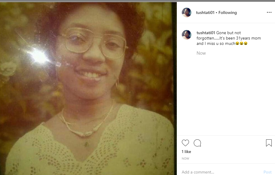 Tonto Dikeh's sister pens down tribute to their late mother, 31 years after her death lindaikejisblog