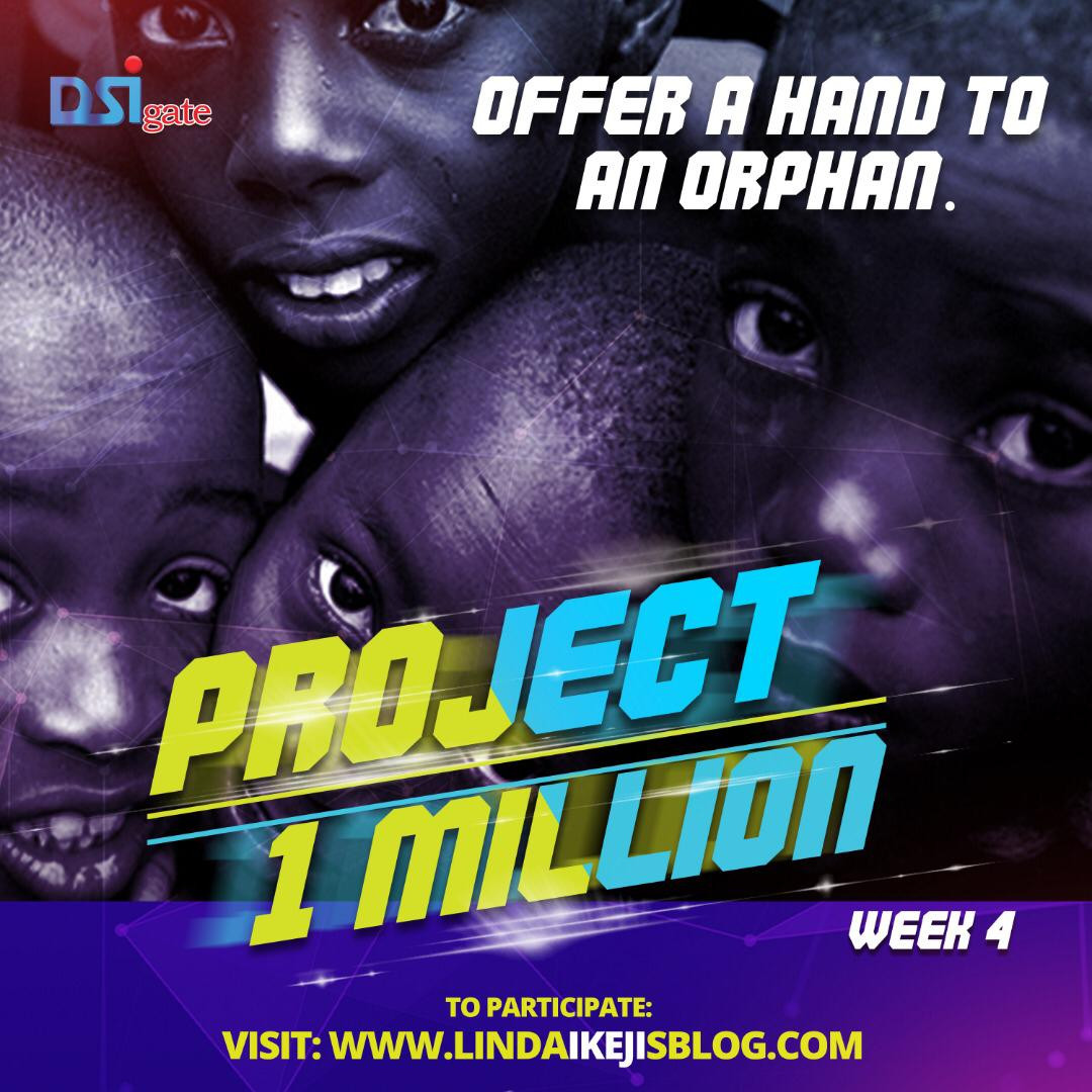 DSIGATE Monday Giveaway. Win N10k to sponsor an Orphan