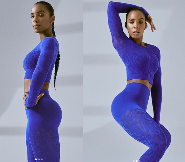 Kelly Rowland flaunts her stunning figure in new photos