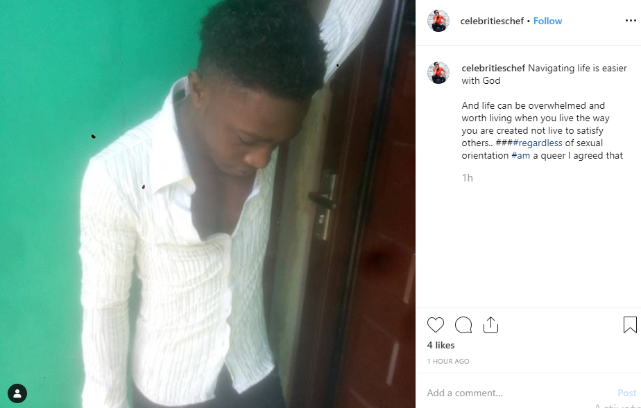 Nigerian gay Chef shares his ordeal after getting gang raped in Lagos lindaikejisblog  2
