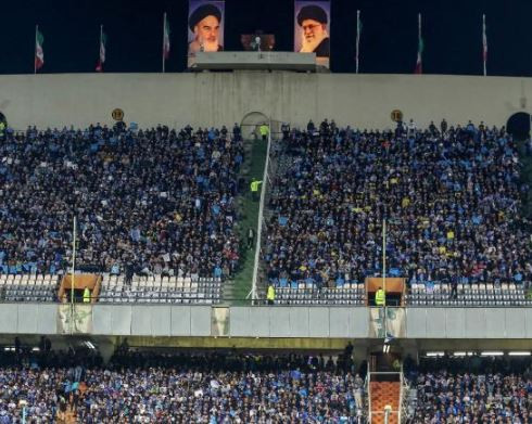 Iranian woman who was denied entry to a football stadiumdies after setting herself on fire