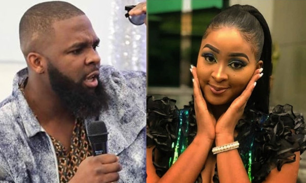 Oyemykke calls Etinosa an 'apologetic nudist' for saying she can't date him because he shouts too much lindaikejisblog