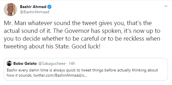 Be careful when you write anything about Kaduna on social media because we will get you - Governor Nasir El-Rufai lindaikejisblog 2