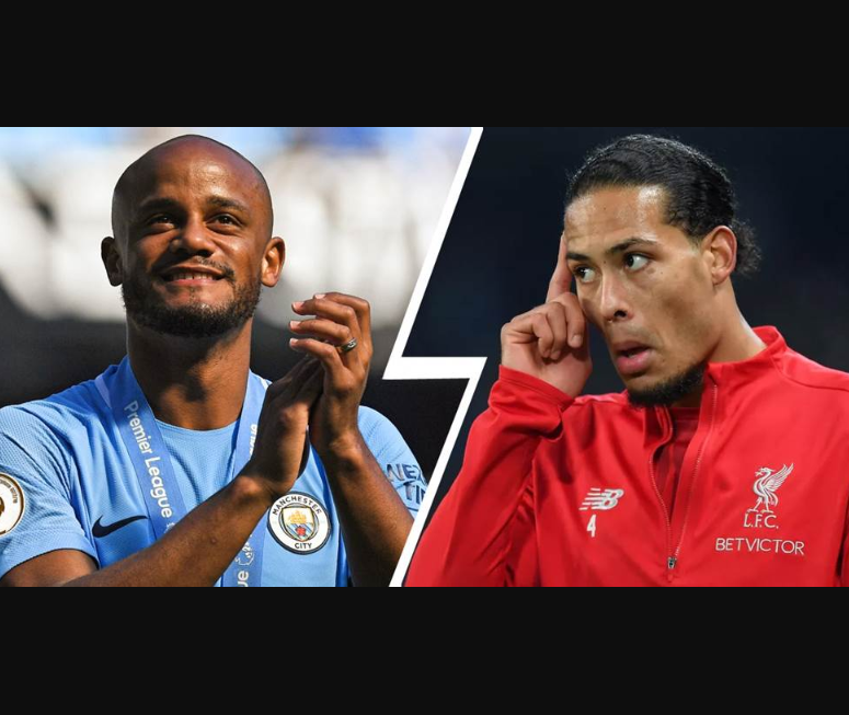 Virgil van Dijk is the best ever defender in Premier League history - Manchester City legend, Vincent Kompany declares