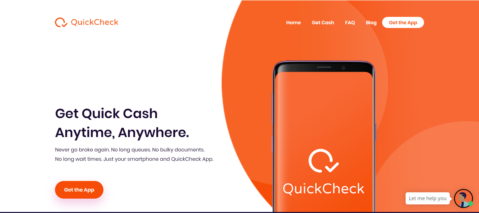 Never Go Broke Again!!! Download QuickCheck's New App