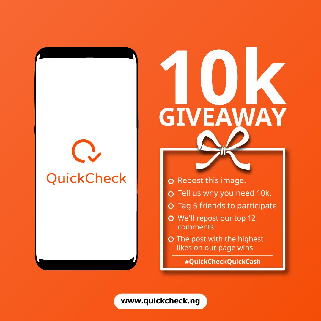 Download QuickChecks New App