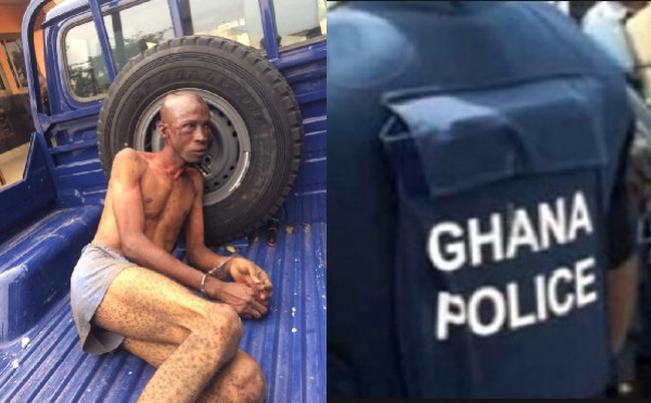 Nigerian man was wrongly accused of being a kidnapper and beaten - Ghana Police lindaikejisblog