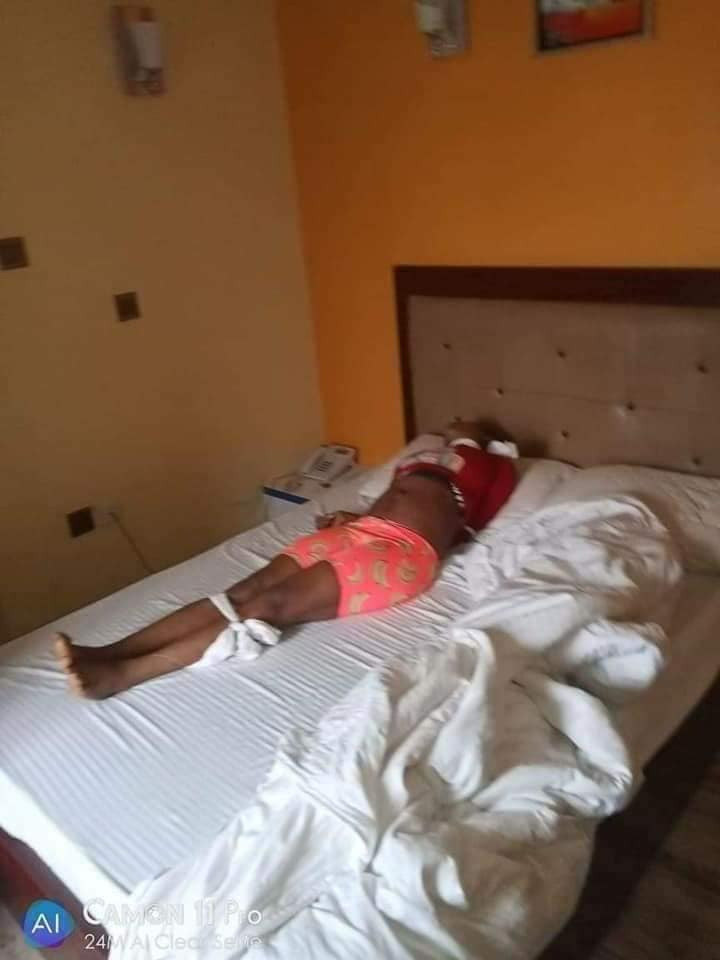 Another lady killed in Port Harcourt with white handkerchief tied on her neck lindaikejisblog 3