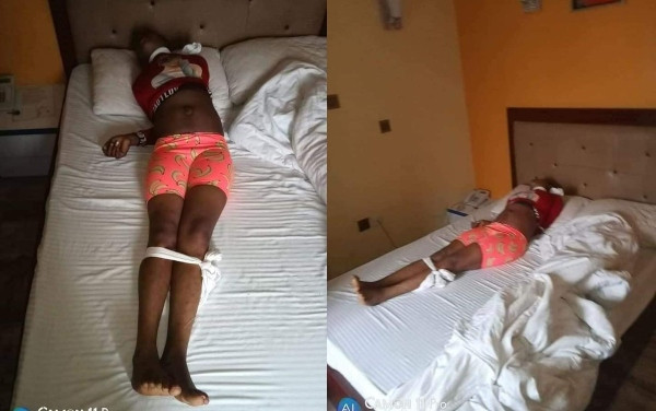 Another lady killed in Port Harcourt with white handkerchief tied on her neck lindaikejisblog