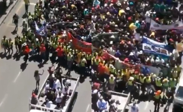 South Africans engage in peaceful demonstration to beg Nigerians for forgiveness over xenophobic attacks lindaikejisblog