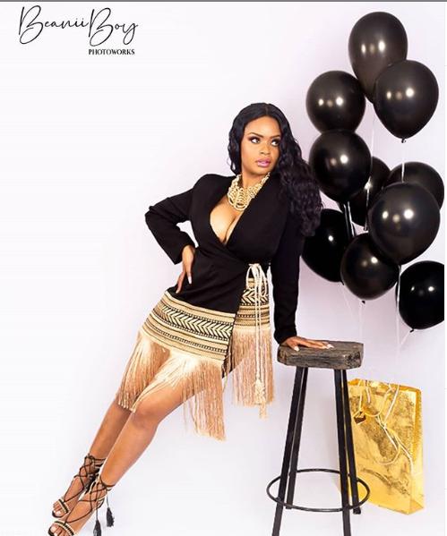 Dillish Mathews shares beautiful photos as she celebrates her birthday lindaikejisblog 1