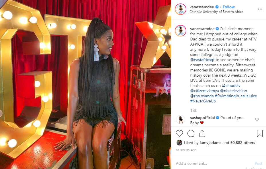 Vanessa Mdee reveals why she dropped out University, shares an inspirational turnaround lindaikejisblog 1