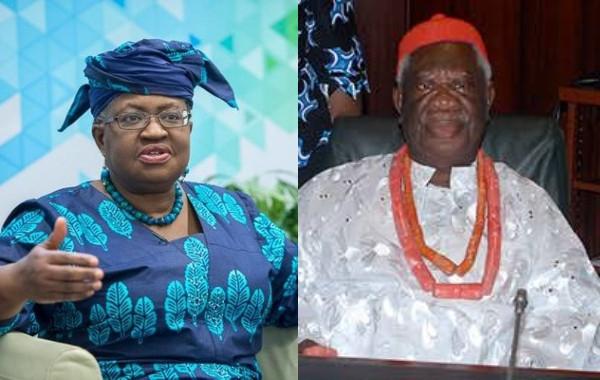 Ngozi Okonjo-Iweala's family fight over late father's throne lindaikejisblog