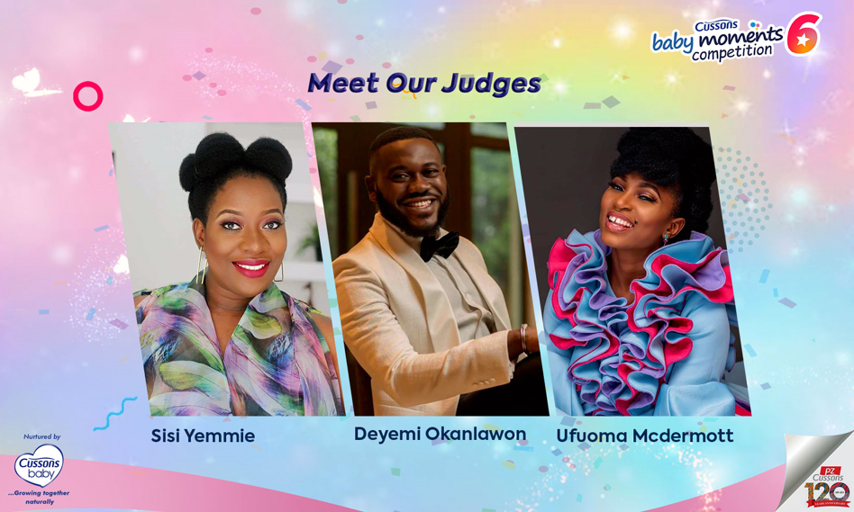 #SharingMagicMemories Meet the Judges for the Cussons Baby Moments Season 6