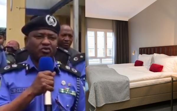 Rivers police arrest suspect trying to strangle his victim at Port Harcourt hotel lindaikejisblog