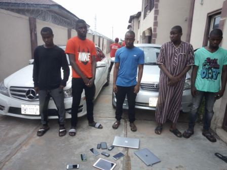 EFCC arrests 25 LAUTECH students for Internet Fraud lindaikejisblog 2