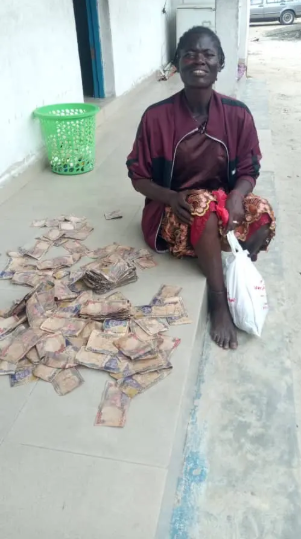 Police recovers N200,000 from mentally challenged woman in Delta lindaikejisblog 1