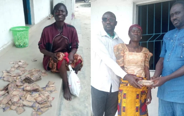 Police recovers N200,000 from mentally challenged woman in Delta lindaikejisblog