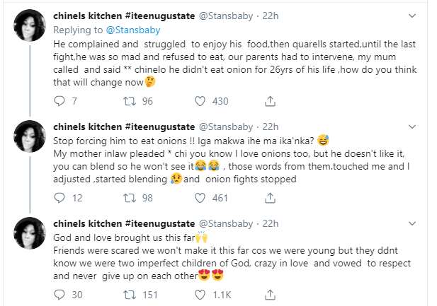 Nigerian Chef narrates how 'onions' almost ended her marriage lindaikejisblog 2