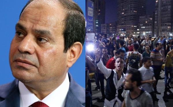 Egyptians demand President el-Sisi's resignation in protest lindaikejisblog