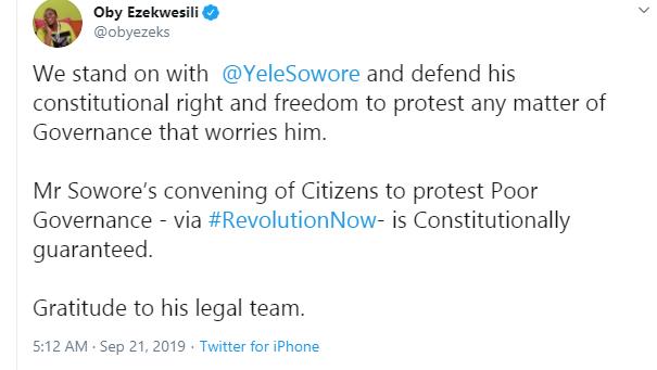 You may cage Sowore but not his idea  Oby Ezekwesili lindaikejisblog 1