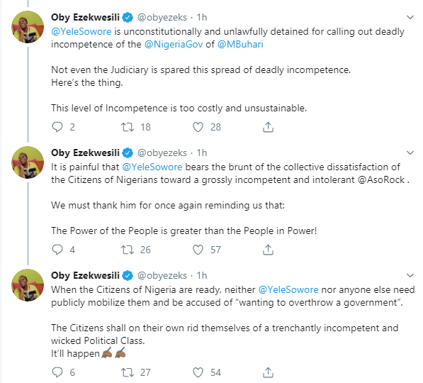 You may cage Sowore but not his idea  Oby Ezekwesili lindaikejisblog 3
