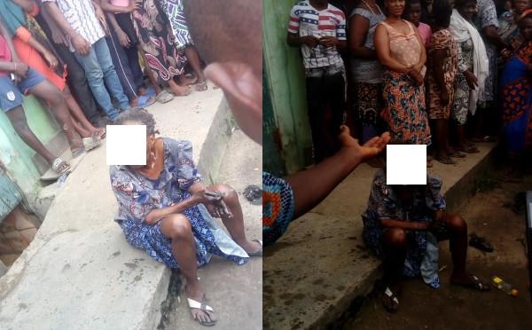 Bird allegedly turns into an old woman at Oworonshoki, Lagos lindaikejisblog 4