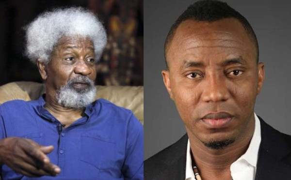 Charges against Sowore confirms FGs unprecedented level of paranoia Wole Soyinka lindaikejisblog