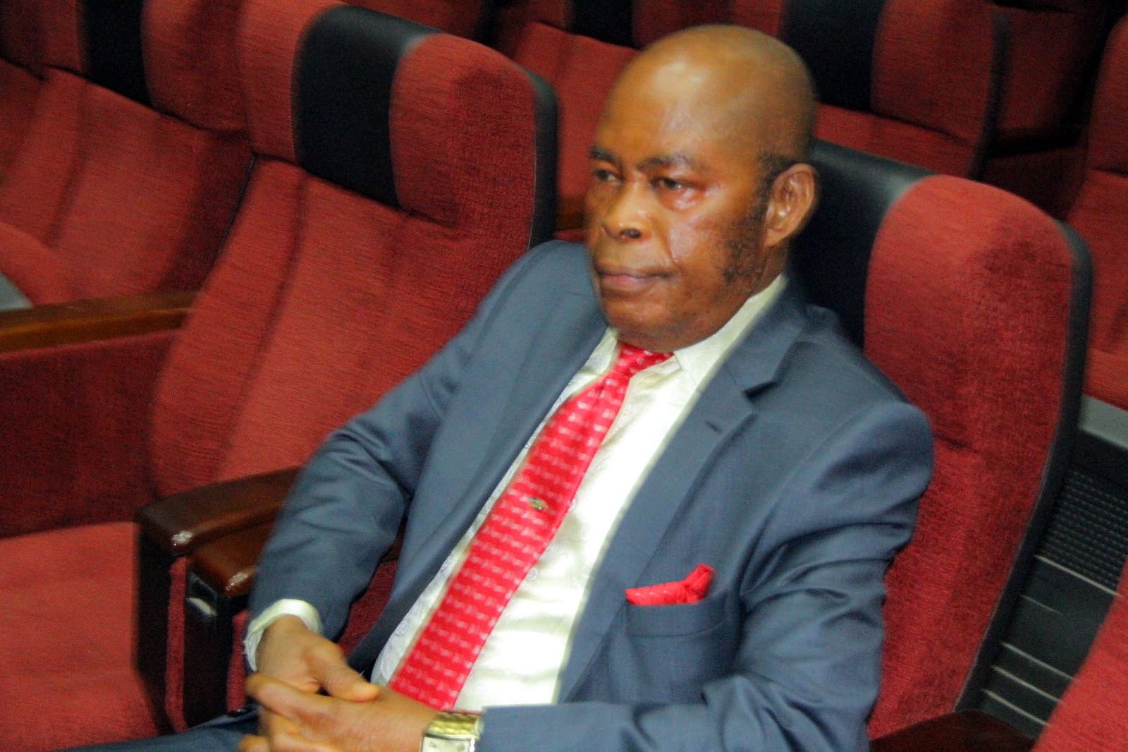 Justice Ngwuta whose house was raided by DSS in 2016, resumes duty after three years of technical suspension lindaikejisblog