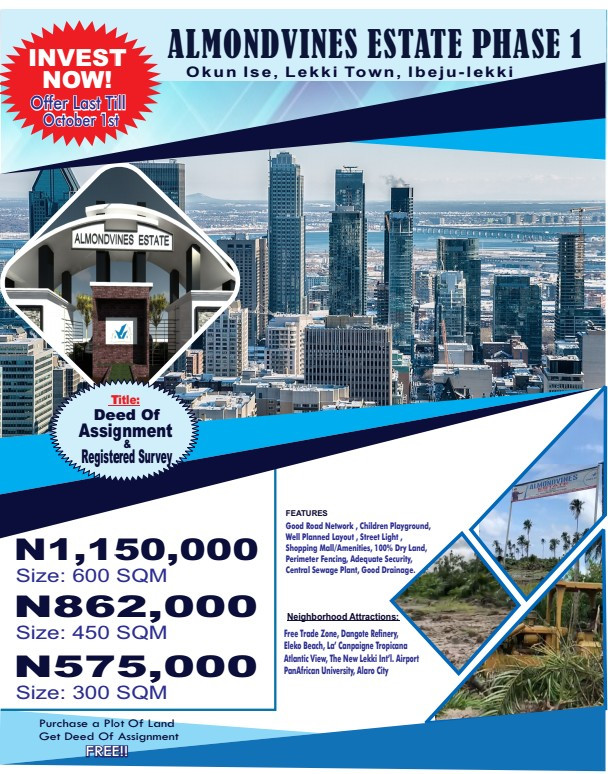 Prime Location To Invest In Property In Lagos 2019