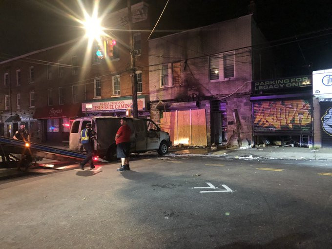 Nigerian man intentionally drives into residential apartment where his ex-wife lived in the US, causing fire lindaikejisblog 1
